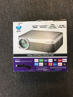 New in the box Onn portable projector on sale!! for Sale in Lakeland, FL