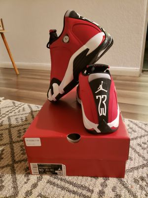 Air Jordan retro 14 toro gym red for Sale in Hemet, CA