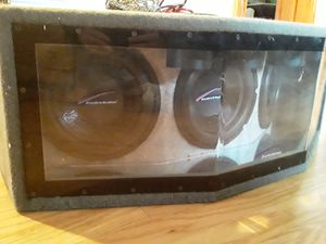 X3 12in Audiobahn subs in a tuned box for Sale in GOODLETTSVLLE, TN