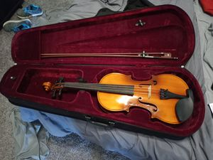 Used 15.5 inch Viola with Case, Bow and Rosin for Sale in Arlington, TX