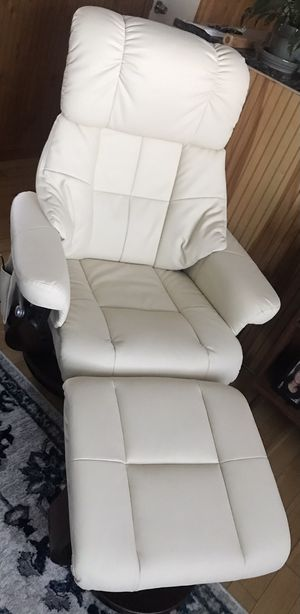 Recliner with ottoman for Sale in Exeter, RI
