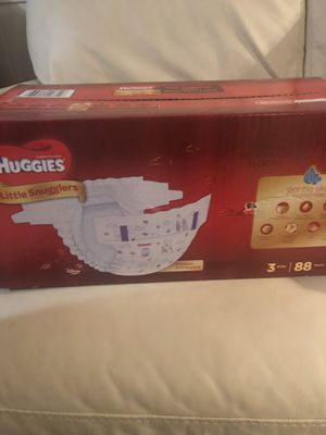 Huggies size 3 Diapers for Sale in Monroeville, PA