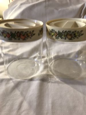 3 Quart Glass Storage Containers for Sale in Honolulu, HI