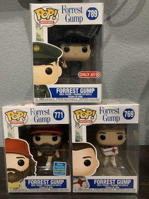 Forrest Gump Funko Set Exclusive for Sale in San Antonio, TX