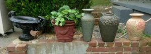 5 crock flower pots will not separate, pick up at my home in Gallatin for Sale in Gallatin, TN