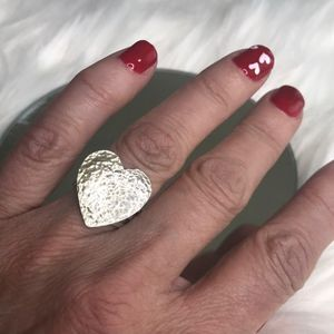 Heart Ring Sterling Silver for Sale in Las Vegas, NV