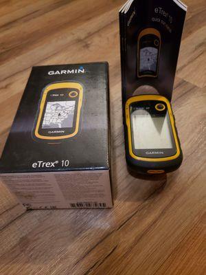 Garmin Etrex 10 GPS for Sale in Summersville, WV