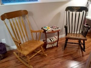 Wooden rocking chairs for Sale in Fall City, WA