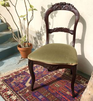 Vintage Upholstered Chair for Sale in Los Angeles, CA