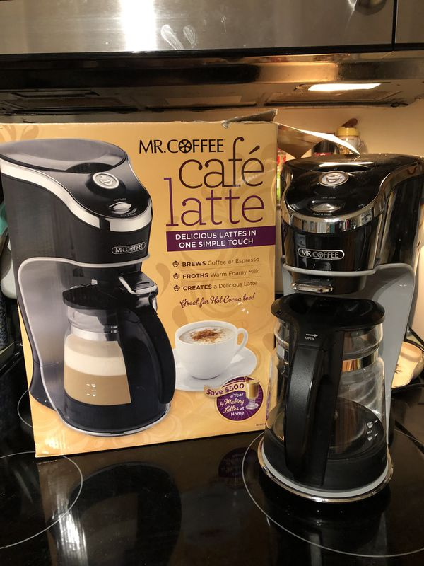 Mr Coffee latte maker