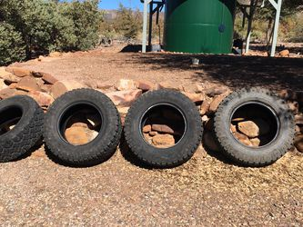 (4) Goodyear Wranglers 285/65R 18 for Sale in Young,  AZ