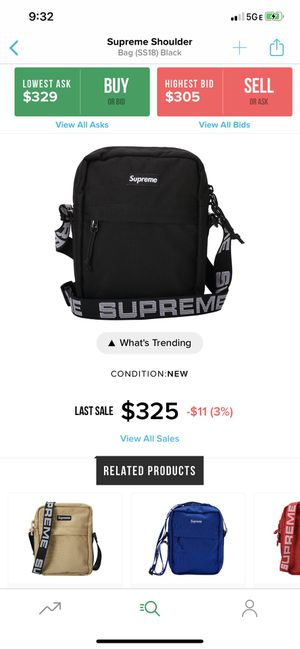 Supreme Bag for Sale in Pittsburgh, PA