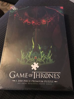 Game of thrones puzzle for Sale in Fort Lauderdale, FL