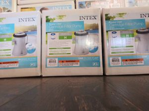 Intex Pump and Filter For 8ft , 10ft and 12ft Pools for Sale in Los Angeles, CA