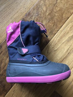 Kamik Kids Snow Boots Size 1 for Sale in Fort Worth, TX