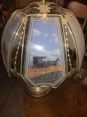 Antique Stagecoach Touch Lamp for Sale in Tucson, AZ