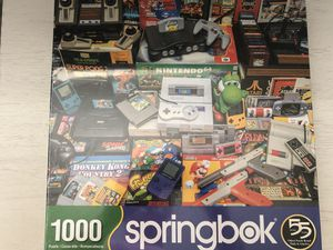 Springbok 1000 piece puzzle Nintendo video games BRAND NEW for Sale in FL, US