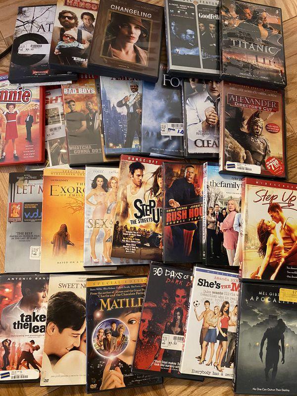 55 CLASSIC DVD'S