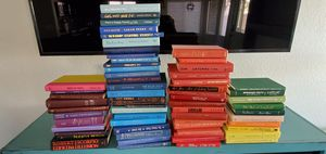 Like new hardback books for reading or decoration for Sale in Chandler, AZ