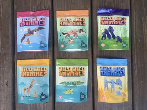 Wendy's Kids Meal Toys 2020 - Wild Wild Animals - Complete Set Of Six for Sale in Chicago, IL
