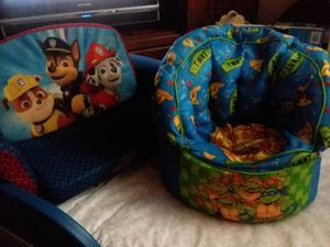 turtle chair and paw patrol couch for Sale in Lexington, KY