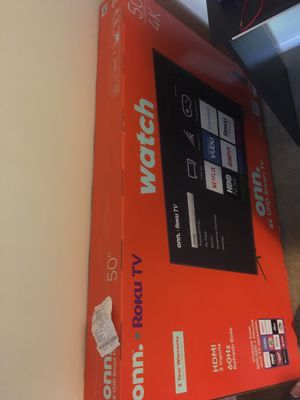 50 inch smart tv shipping only due to covid reasons for Sale in Hoboken, NJ