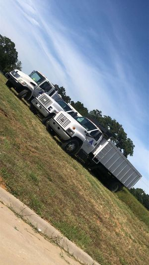 Bobcat and two dump trucks 2006 Hino n 2004 chevy 6500 just two dump trucks for Sale in Farmers Branch, TX