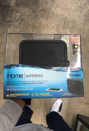 Water proof wireless iHOME SPEAKER for Sale in Littleton, CO