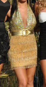 Gold Terani Cocktail Dress for Sale in Springboro, OH
