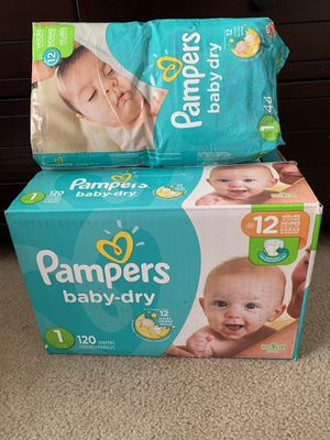 Pampers size 1 for Sale in Palm Harbor, FL
