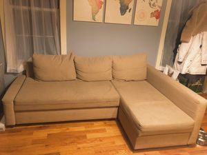 IKEA Sectional Pull Out Couch for Sale in Brooklyn, NY