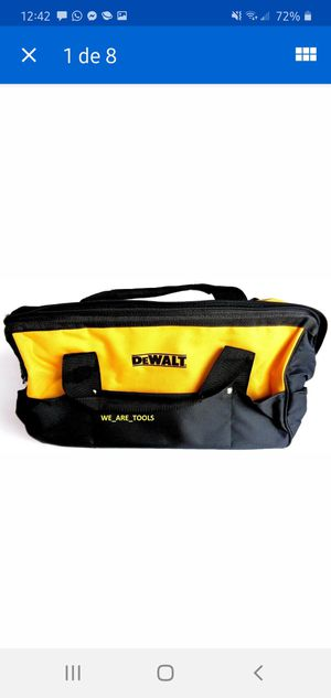 "NEW DEWALT HEAVY-DUTY NYLON CONTRACTOR BAG FEATURES: ·         Dimensions: 19""L x 12""W x 11""H for Sale in Dumfries, VA"
