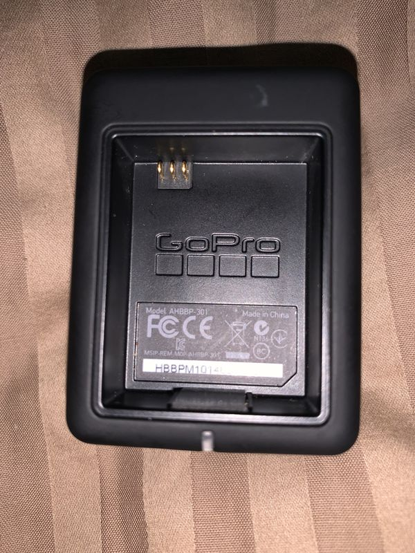 Double sided GoPro battery charger