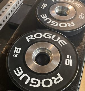 Rogue Fitness New Dumbbell Bumpers 10 lbs for Sale in Tustin, CA