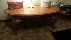 All wood claw table for Sale in Akron, OH