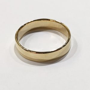 10K Yellow Gold Man's Wedding Band Size:14.5 I-3975 for Sale in Tampa, FL