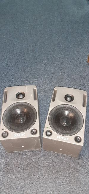Genelec studio monitors for Sale in Broomfield, CO