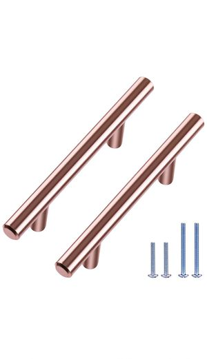 10 Pack High-End Euro Bar, 5-3/8-inch Length (3-inch Hole Center) Cabinet Handles Drawer Pulls Doors Handle (1/2-inch Diameter) Kitchen Hardware Home for Sale in Raleigh, NC