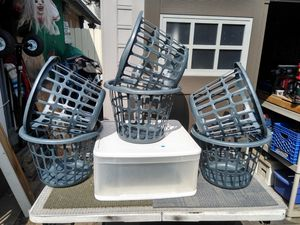 Laundry baskets and plastic drawer for Sale in Stanton, CA