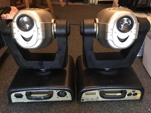 American Dj moving heads control by dmx or voice activation for Sale in New Britain, CT