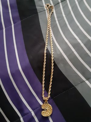 Stainless steel bubble c chain for Sale in Chicago, IL