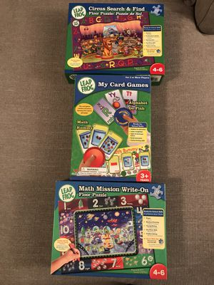Kids Leap frog puzzles and children's game for Sale in Portsmouth, VA