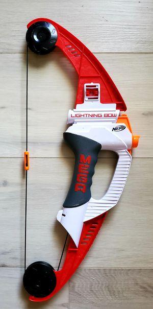 Nerf Gun Mega Lightning Bow No Darts for Sale in VLG WELLINGTN, FL