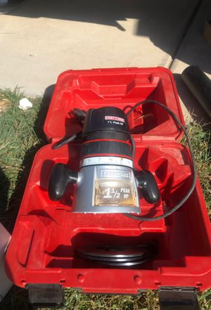 Craftsman router for Sale in Madera, CA