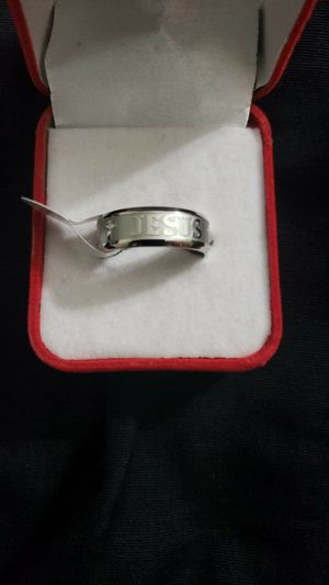 1 pcs popular silver plated men ring size 10 for Sale in Moreno Valley, CA