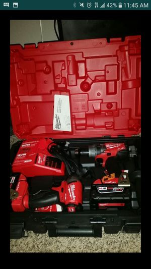 Milwuakee. fuel impact and hammer drill set for Sale in Garland, TX