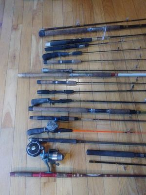 Fishing rods for Sale in Lowell, MA