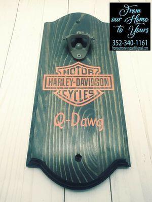 Harley Davidson beer bottle opener for Sale in Spring Hill, FL