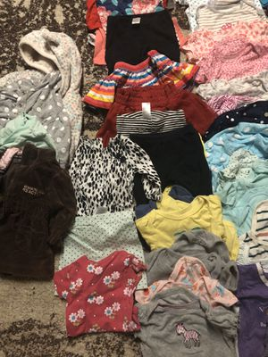Baby girl clothes size 3-6 months for Sale in Lansing, IL