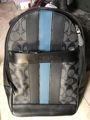 Coach new small backpack. For men's. for Sale in Los Angeles, CA